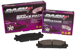 Disc Brake Pad Set-Ceramic Pads Front Dash 4 Brake CD727