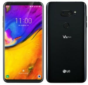 LG V35 ThinQ LM V350A GSM Factory Unlocked 64GB Smartphone - Excellent