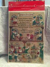 advent calendar Hallmark Surprises from Santa.  New.  Glitter.  Elves in the wor