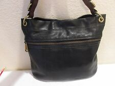 FOSSIL EXPLORER HOBO HAND BAG BLACK ZB5503