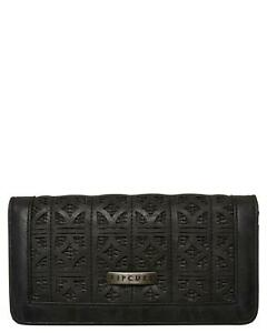 Rip Curl PALMS SPRINGS CHEQUE WALLET Womens Trifold Wallet Purse - LWUJO1 Black
