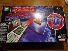 Super Nintendo Konsole Ovp Snes Action Pack