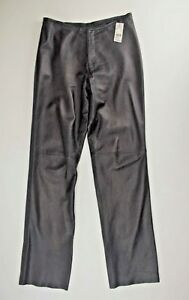Leather Pants Women's 6 NEW Black Trucker Leather Waist 30 inches Lined