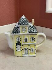 Porcelain House Teapot