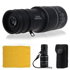 Night Vision 16x52 Dual Focus Zoom Optic Lens Monocular Travel Camping Telescope