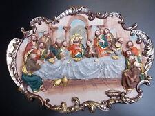 Mural Última Cena Cuadro 12 Apóstol Jesús,religión,3D cuadro,5804 nuevo emb.