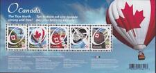 Canada 2011 Souvenir Sheet 2418 Canadian Pride – O Canada MNH