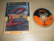 Turok 2 Seeds of Evil PC CD ROM envoi rapide