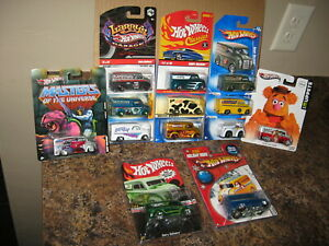 Hot Wheels Lot of 13 Dairy Delivery Variation Larry's Garage Classics Muppets
