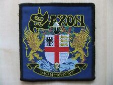 Saxon Lionheart Aufnäher Patch Armored Saint UFO Venom Demon Blazon Stone