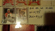 2008-09 OPC #1-600 COMPLETE SET w/ rc's/sp's GIROUX RC ++ O PEE CHEE NO UPDATES