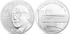 FRANCE 10 Euro Argent BE 7ème Art le Corbusier 2015