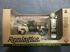 1:43 Remington 1942 Ford Pickup with 1950's Style Gas Pump