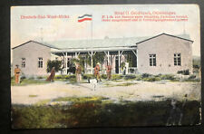 1908 German South West Africa Picture Postcard Cover Hotel Gloditzsch