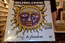 Sublime 40oz. to Freedom 2xLP sealed vinyl reissue 40 oz ounce