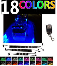 Boat LED Interior All Color Neon Light Strip Kit For Bass Yacht Ski Wake Pontoon