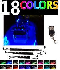 Boat LED Interior All Color Neon Light Strip Kit For Bass Yacht Ski Wake Pontoon
