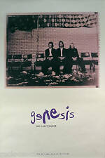 GENESIS 1991 WE CAN'T DANCE YELLOW PROMO POSTER ORIGINAL