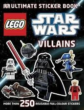 LEGO� Star Wars Villains Ultimate Sticker Book, Collectif Paperback Book