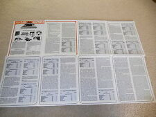 Open Reel Tape Test, 1980, 8 page, VERY RARE INFO! Full Test, Ampex, BASF, TDK