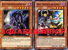 Yu-Gi-Oh! Drago Interplanetarioporporaspinoso x3 ORCS-IT085 Dharc x3 ORCS-IT033