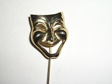 Amazingly cool miniature Mask with stem, Pin