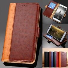 Moto P30 Play Note G7 G6 Plus G5S G4 E5 C Luxury Leather Case Cover for Motorola