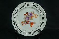 """Great Old ca. 1930 reticulated plate Germany 6"""" #142 [Y7-W6-A9]"""