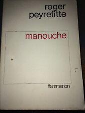 EDITION ORIGINALE NUMEROTÉE DE ROGER PEYREFITTE MANOUCHE