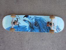 Vintage Tony Hawk Birdhouse Skateboard Deck, Trucks & Wheels Blue USED