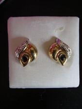Diamond Butterfly Round Fine Gemstone Earrings