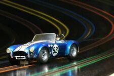 Vintage 1/24 Slot Car  REVELL COBRA ROADSTER KEN MILES RACING 1960s AMERICANA