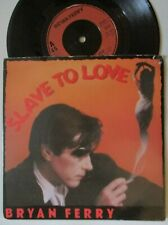 """BRYAN FERRY ~ Slave To Love ~ 7"""" Single PS"""