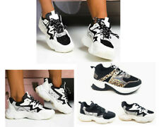 Women Out Dad Shoes Clunky Sneaker Comfortable Breathable Sport Athletic Shoes