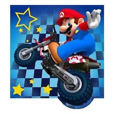 NEW NINTENDO MARIO KART Wii GRAND PRIX SQUARE RACING DECORATIVE TOSS BED PILLOW