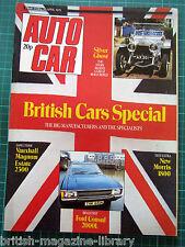 Autocar 26/4/1975 Rolls Royce Silver Ghost - Consul Morris 1800 Vauxhall Magnum