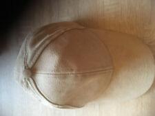 FLAT BASEBALL CAP KUNST LEDER VIELEN FARBEN Größe einstellbar FS-112