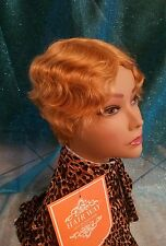 """New Style 100%  Short Wavy Human Remy Hair  Wig, 4"""""""
