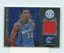 JAVALE MCGEE 2013-14 Panini Totally Certified Totally Blue Jersey Relic #168