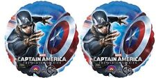 """Captain America The Winter Soldier, party balloons (2-18"""" Foil balloons)"""