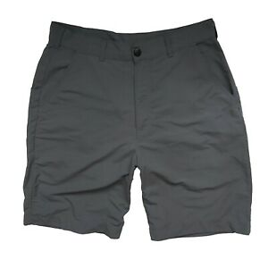 Patagonia Mens Shorts Size 32 Trekking Outdoor Travel Grey Pockets