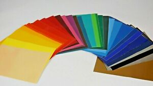 A4 SELF ADHESIVE STICKY BACK PLASTIC SIGN VINYL VARIOUS COLOURS
