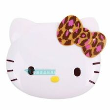 SANRIO HELLO KITTY LEOPARD BOWKNOT TRAVEL COSMETIC MIRROR COMB SET SPIEGEL066918