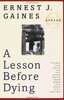 A Lesson Before Dying (Oprahs Book Club) by Ernest J. Gaines