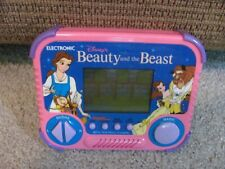 Disney Beauty and the Beast Electronic Hand Held Game Tiger 1990 WORKS