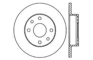 Frt Disc Brake Rotor Centric Parts 121.43007