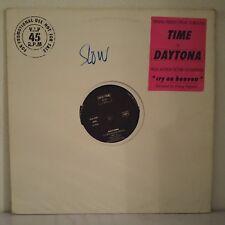 """Daytona – Time (Vinyl 12"""", Maxi 33 Tours, Promo)"""