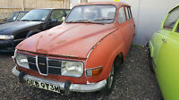 Saab 95V4 95 V4 Estate 1973 Restoration project in very solid condition