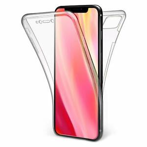 360 CLEAR Case For iPhone 11 Pro 12 XS Max XR 8 7 SE 2 Cover Silicone Shockproof