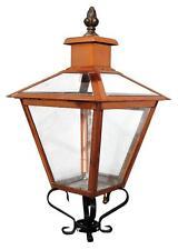 Lanterne ancienne d'extérieur en cuivre